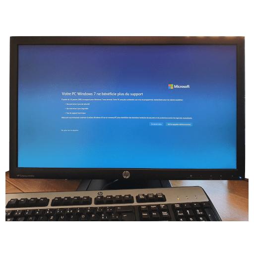 Windows 7 -Dépannage Informatique Genève